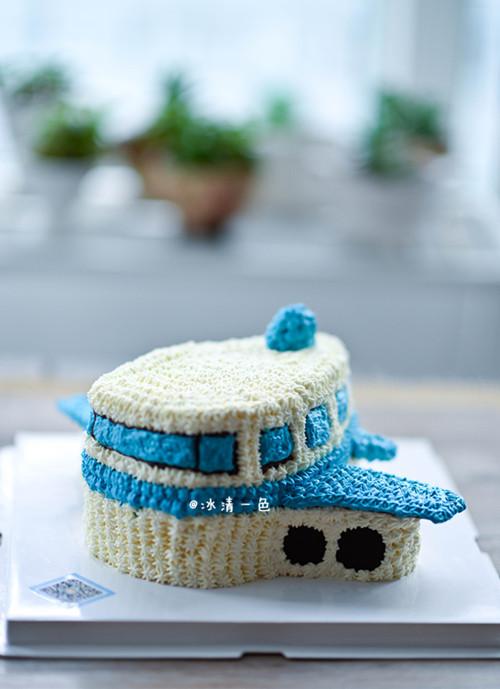 飞机奶油蛋糕的做法 给小朋友们节日快乐